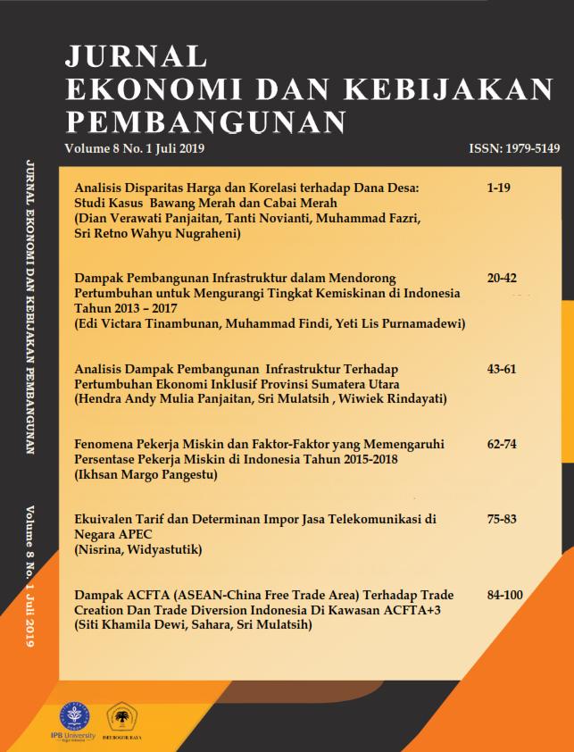 Jurnal Ekonomi Dan Kebijakan Pembangunan