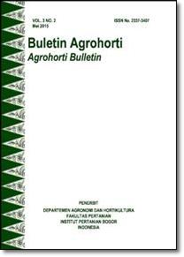 Vol 3, No 2 (2015): Buletin Agrohorti