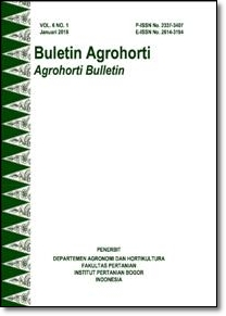 Vol 6, No 1 (2018): Buletin Agrohorti