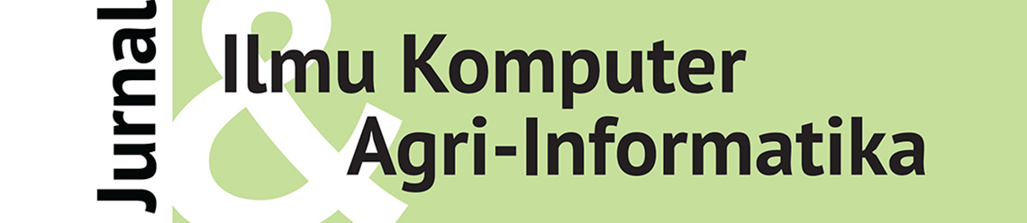 Jurnal Ilmu Komputer dan Agri-Informatika cover