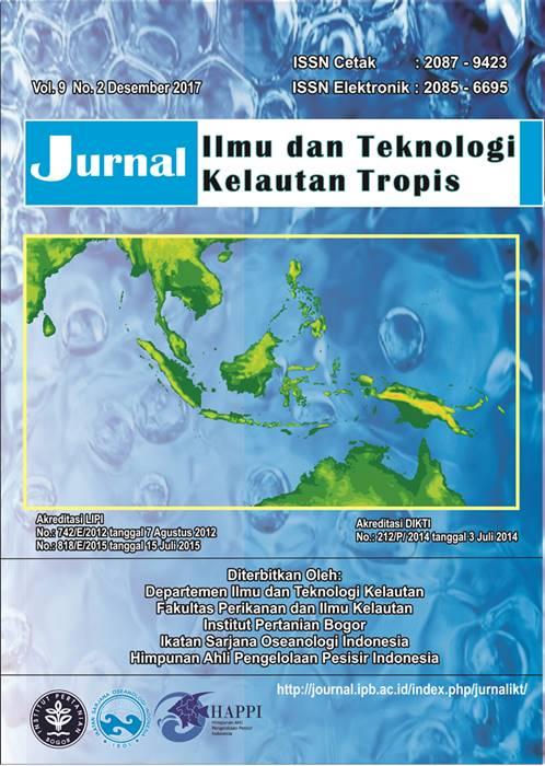 Vol 9, No 2 (2017): Elektronik Jurnal Ilmu dan Teknologi Kelautan Tropis