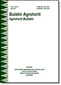 Vol 5, No 2 (2017): Buletin Agrohorti