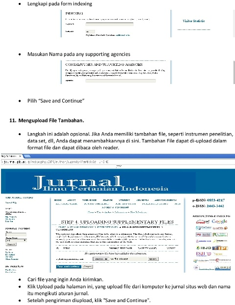 Submissions Jurnal Ilmu Pertanian Indonesia